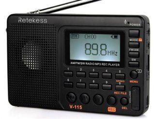 Retekess V115 Radio AM FM
